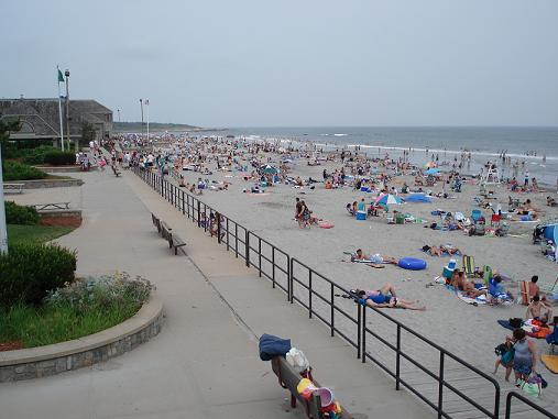 Scarborough State Beach With Its Newly Renovated Pavilion And Expanded Area Along Renovations To The Olivo S Lido Areas